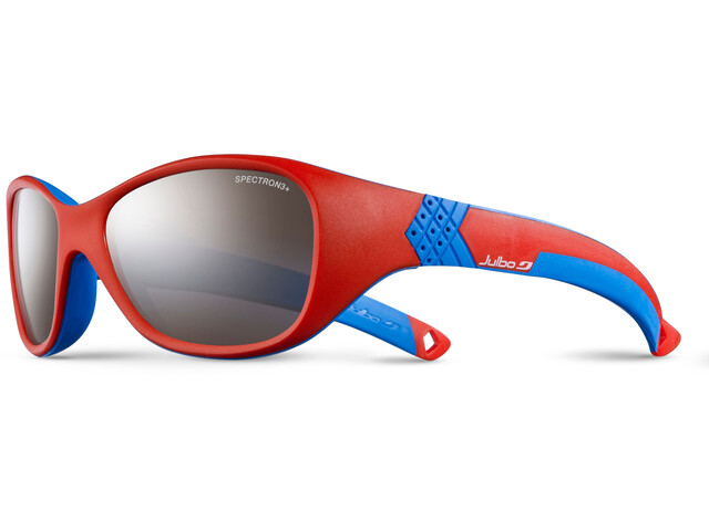 Julbo Solan Spectron 3+ Sunglasses Kids 4-6Y Red/Blue-Gray Flash Silver
